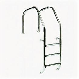 Лестницы и поручни - Лестница для переливных бассейнов AstralPool Overflow 1000 с 3 ступенями Luxe..., 0