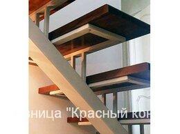 Лестницы и элементы лестниц - Лестница металлическая с сварными перилами, в…, 0