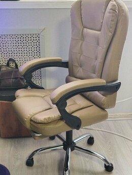 Компьютерные кресла - Кресло офисное с подставкой для ног, 0