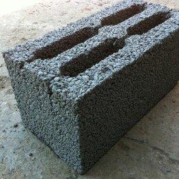 Строительные блоки - Блок стеновой 390х190х188 М50, 0