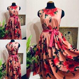 Платья - Цветочное платье в стиле Dolce&Gabbana , 0