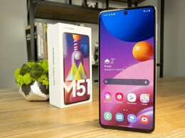 Мобильные телефоны - Смартфон Samsung Galaxy M51 128 гб, 0