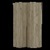 Шкаф угловой Асти правый по цене 33930₽ - Шкафы, стенки, гарнитуры, фото 2