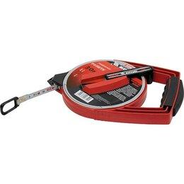 Измерительные инструменты и приборы - Рулетка геодезическая, 50 м х 12,5 мм Matrix, 0