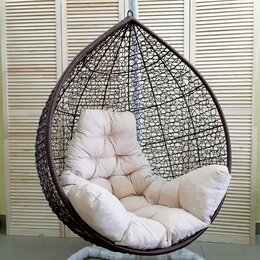 Подвесные кресла - Подвесное кресло ТРОПИКА венге с подушкой, 0