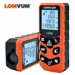 Измерительные инструменты и приборы - лазерный дальномер Lomvum LV55, 0