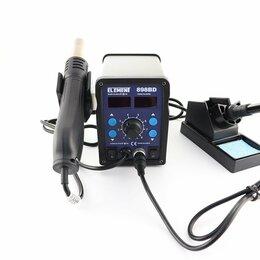 Электрические паяльники - Паяльная станция ELEMENT 898BD c феном, 0