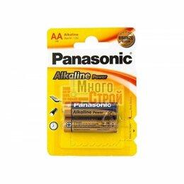 Батарейки - Батарейка Тип «АА» Panasonic Alkaline LR 6 2шт/бл, 0