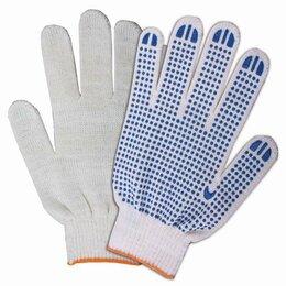 Перчатки и варежки - Перчатки хлопчатобумажные, КОМПЛЕКТ 200 пар, 10…, 0