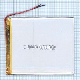 Аккумуляторы - Аккумулятор Li-Pol (батарея) 3*90*105мм 2pin…, 0
