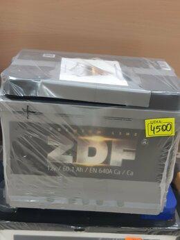 Аккумуляторы и комплектующие - Аккумулятор Zdf 60Ah 640A, 0