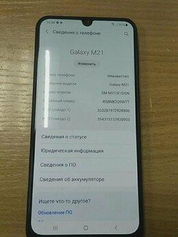Мобильные телефоны - Смартфон Samsung Galaxy M21 64GB , 0