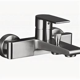Краны для воды - Смеситель для ванны BelBagno Nova нержавеющая сталь сатин NOV-VASM-IN, 0