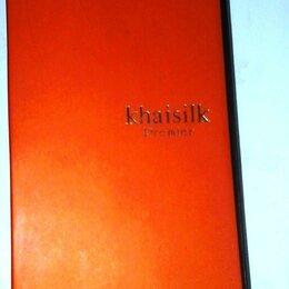 Галстуки и бабочки - Khaisilk Premier галстук бежевый с узором, новый - подарили, но невпопад)., 0