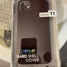 Чехлы - Чехол кевлар apple iPhone 11, 0