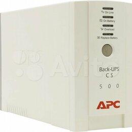Источники бесперебойного питания, сетевые фильтры - Ибп APC Back-UPS 500 без аккумулятора, 0
