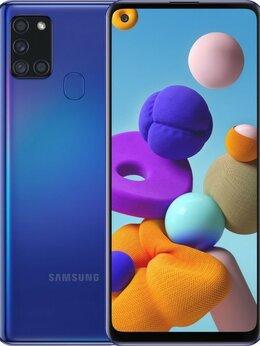 Мобильные телефоны - Samsung Galaxy A21s 4/64GB Синий (Ростест), 0