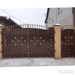 Заборы и ворота - Распашные ворота, 0