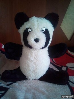 Мягкие игрушки - медвежонок Панда мягкая игрушка, 0