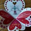 Сердечко валентинка открытка по цене 150₽ - Открытки, фото 2