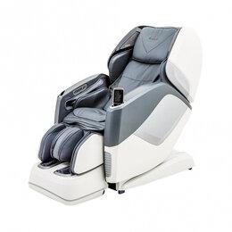 Массажные кресла - Массажное кресло Casada AURA серо-белое, 0