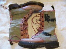 Ботинки - Dr. Martens ботинки розовые брезент размер 38, 0