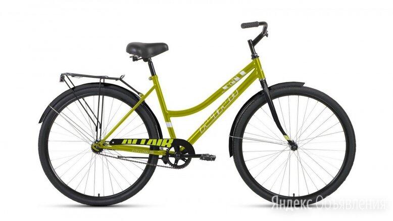 """Городской велосипед ALTAIR City low 28 зеленый/черный 19"""" рама по цене 8584₽ - Велосипеды, фото 0"""