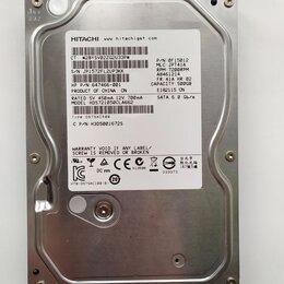 Жёсткие диски и SSD - 500GB Жесткий диск HDD для пк 3.5 Sata 3 Hitachi, 0