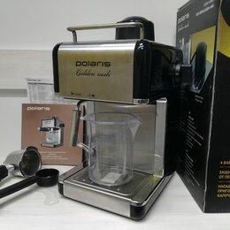 Кофеварки и кофемашины - Кофеварка Polaris PCM 4006A Golden rush. Т5148., 0