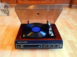 Проигрыватели виниловых дисков - Проигрыватель Вега 104 стерео с новой головкой, 0