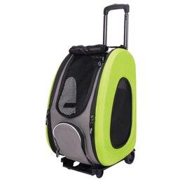 Транспортировка, переноски - Ibiyaya складная сумка-тележка 3 в 1 для собак…, 0