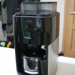 Кофеварки и кофемашины - Капельная автоматическая зерновая кофемашина Philips HD7761, 0