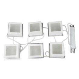 Встраиваемые светильники - Встраиваемый светодиодный светильник Uniel ULP-1010 42W/4000К IP40 Grilyato W..., 0