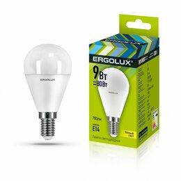 Лампочки - Светодиодная лампа E14 9W 3000K Ergolux…, 0