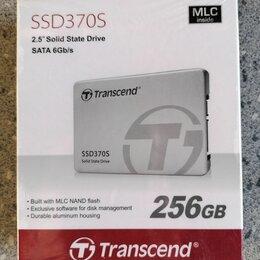 Жёсткие диски и SSD - SSD 256GB Transcend TS256gssd370S MLC память, 0
