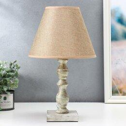 Фильтры для вытяжек - Настольная лампа 'Ардель', 1х40Вт Е27, цвет бежевый, 0