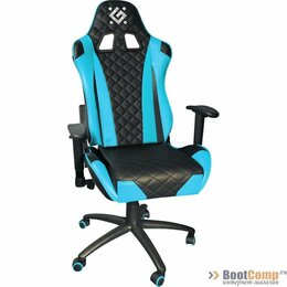 Компьютерные кресла - Игровое кресло Defender Dominator CM-362 Голубой, 0