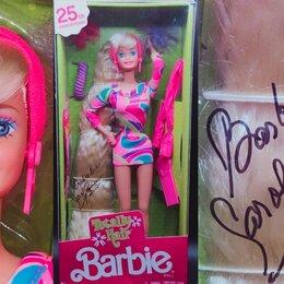 Куклы и пупсы - Тоталли Хеир Барби с Автографом Автора-дизайнера, 0