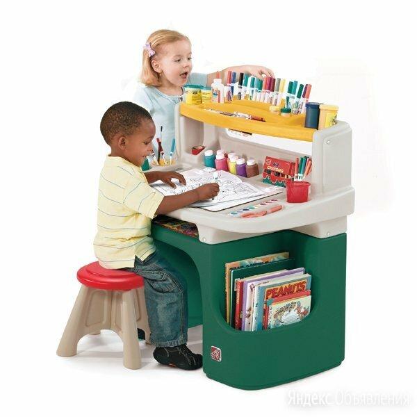 Столик для творчества Step2 Art Master Activity Desk по цене 15700₽ - Развивающие игрушки, фото 0