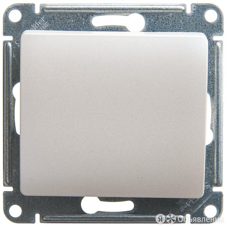 GLOSSA Перламутр Кнопка нажимная сх.1, 10AX GSL000615 по цене 234₽ - Электрические щиты и комплектующие, фото 0