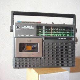 Музыкальные центры,  магнитофоны, магнитолы - Sony cf- 210Y магнитола 1973 г.  Япония.., 0