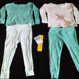 Домашняя одежда - Пижама Carters р.24, 83-86 см оленёнок 2 шт, 0
