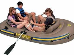 Моторные лодки и катера - Надувная трёхместная лодка EXCURSION 3 SET, 0