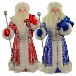 Новогодние фигурки и сувениры - Новогодний сувенир Дед Мороз с мешком подарков…, 0