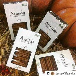 Продукты - Печенье Armida без сахара, кунж, лук, лен,…, 0