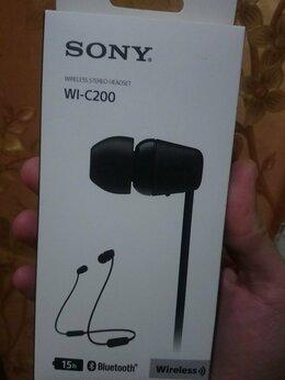 Наушники и Bluetooth-гарнитуры - Sony WI-C200, 0