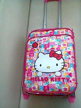 Чемоданы - Чемодан на колесах детский Hello Kitty, 0