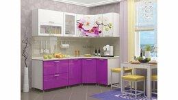 Мебель для кухни - Кухня угловая Орхидея 2,15х1,25, 0