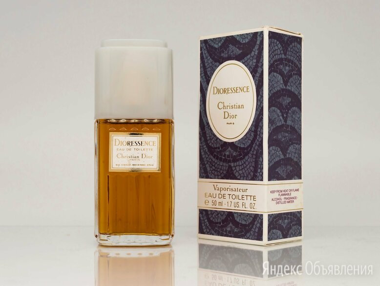 Dioressence (Christian Dior) EDT 50 мл ВИНТАЖ по цене 12850₽ - Парфюмерия, фото 0