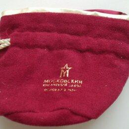 Подарочная упаковка - Подарочный мешочек для украшений красный Московский ювелирный завод, 0
